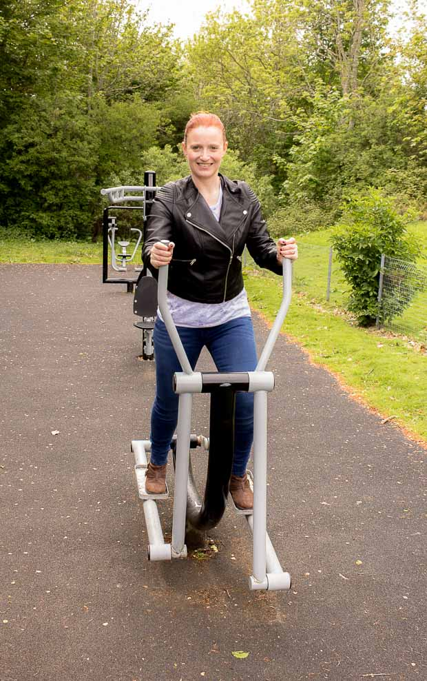 Cross Trainer Whin Park Outdoor Gym Inverness