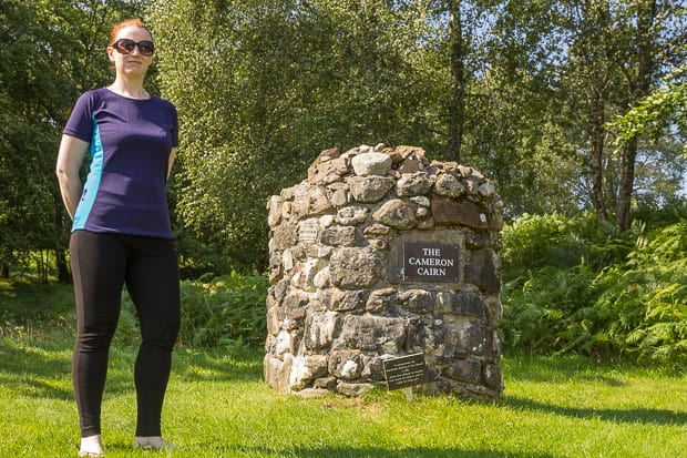 Clan Cameron Museum Achnacarry Lynne at Cairn.