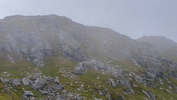 Summit of Cruach Ardrian to the right.