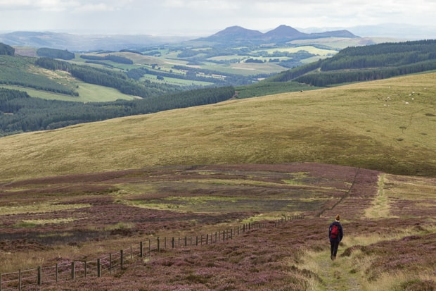 Descent from Brown Knowe